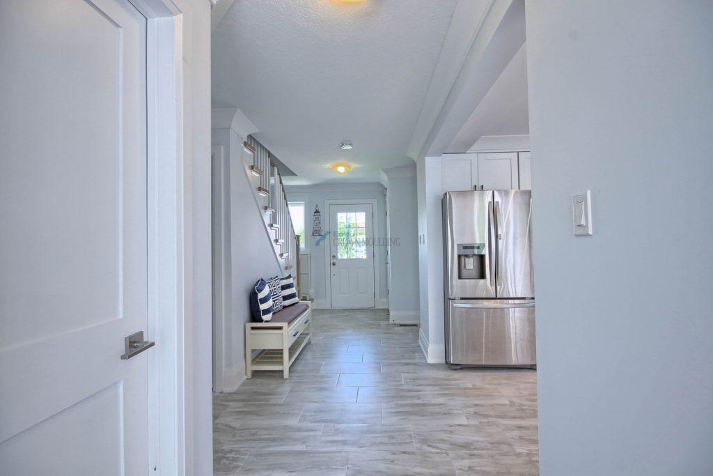 hallway baseboard trim and moulding