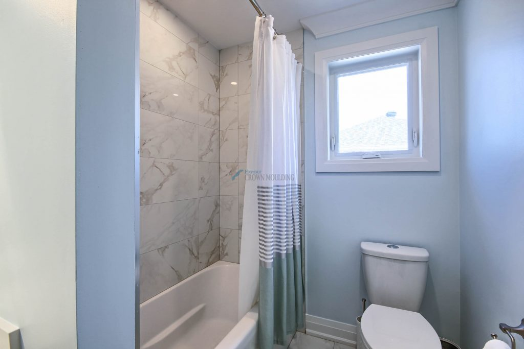 new bathroom interior in oakville
