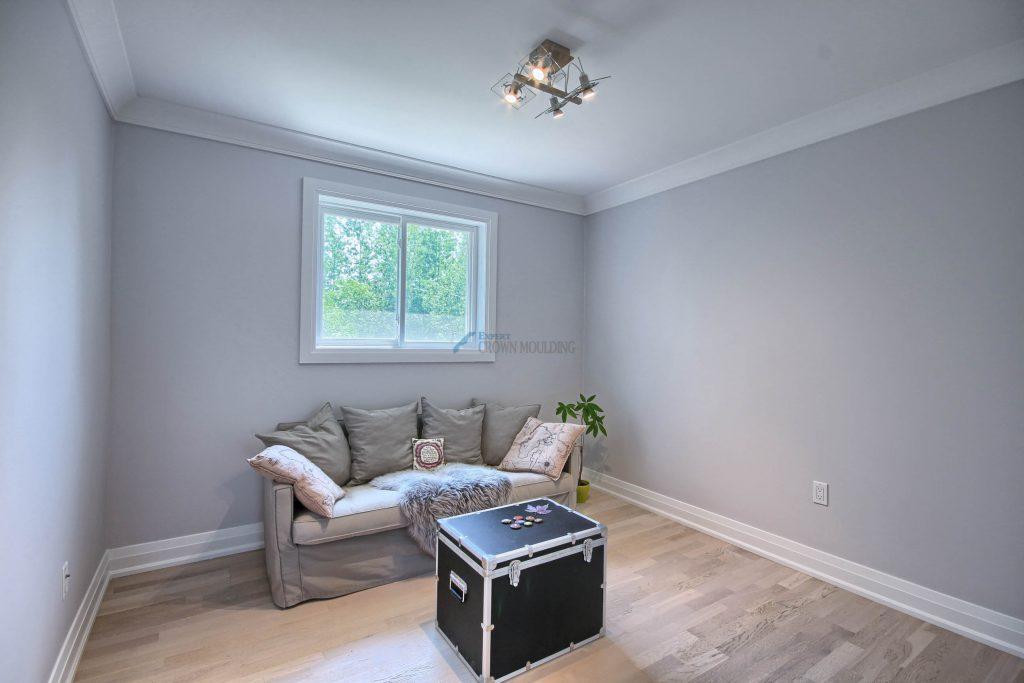fresh renovation with trim and moulding