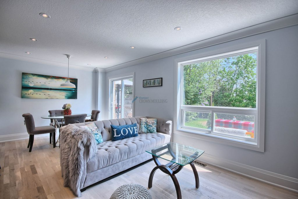 window trim and crown moulding oakville