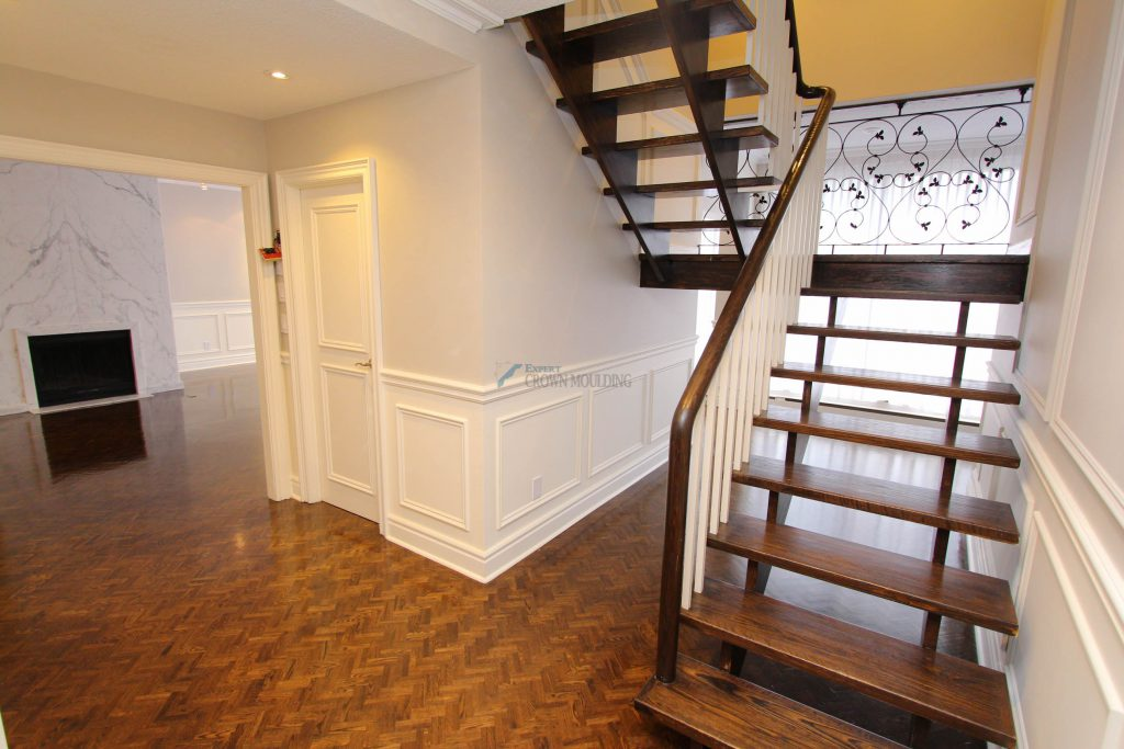 appartment wainscoting and trim