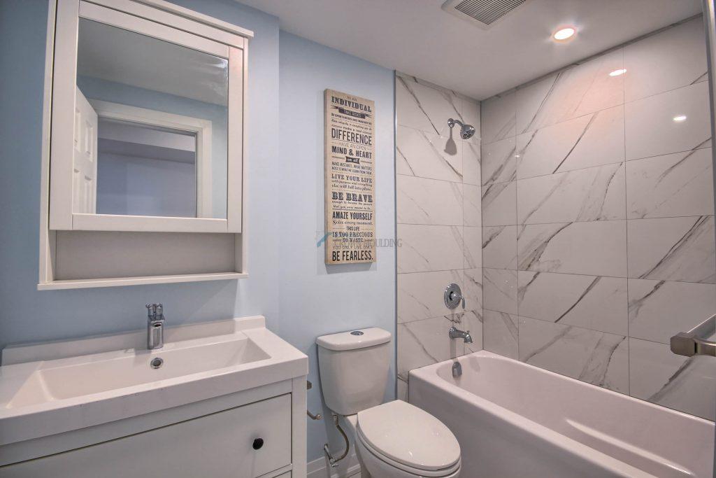 ew washroom interior