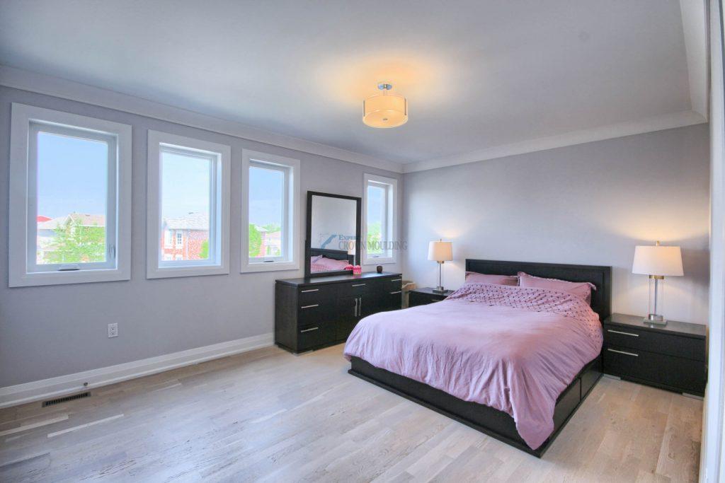 bedroom windows trim