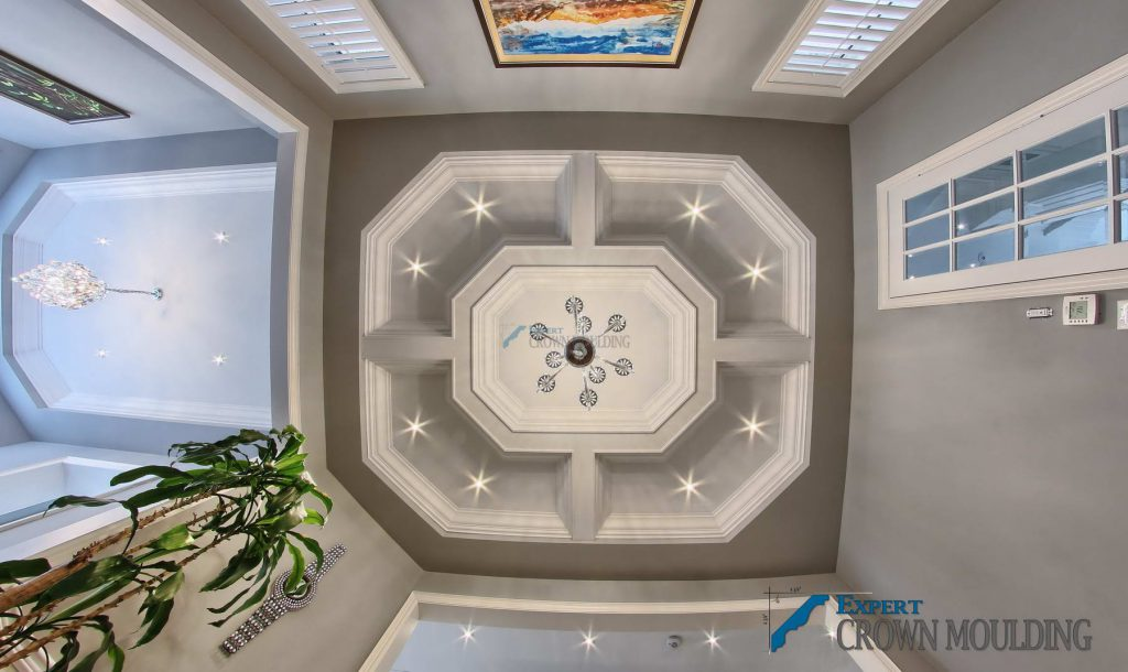 oakville house with a pan ceiling installed