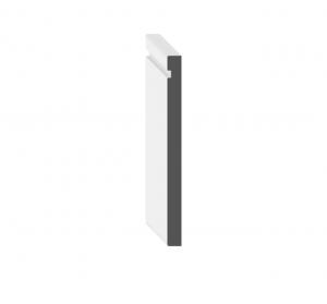 "6"" Modern Baseboard: 6 1/2"" x 1/2"""