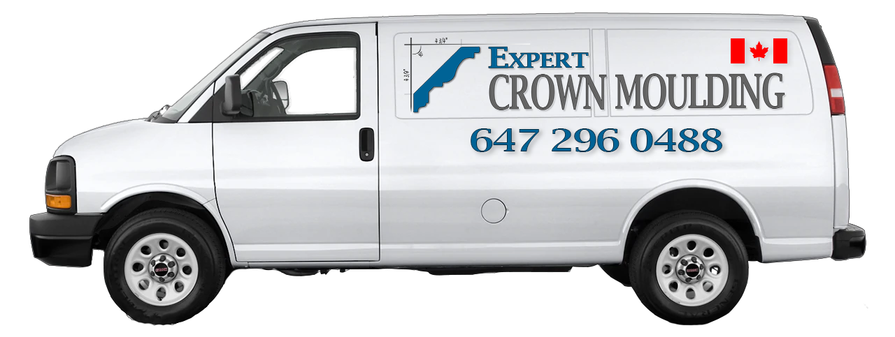 expert crown moulding truck